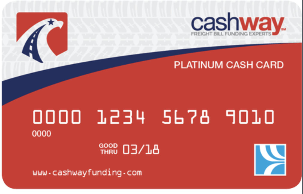 Free Comdata Fuel Cards with Cashway Funding factoring clients